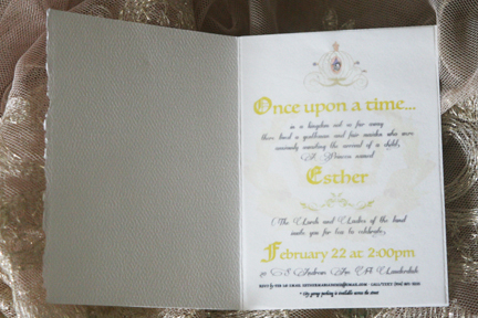 Erika used creative printing on semi transparent paper, Coach Erika Beauty Studio 954-805-6974